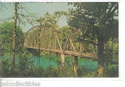 The Old Bridge over The Spring River at Hardy,Arkansas - Cakcollectibles