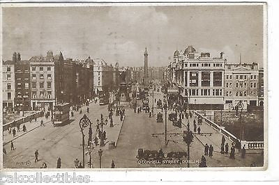 O'Connell Street-Dublin,Ireland 1929 - Cakcollectibles