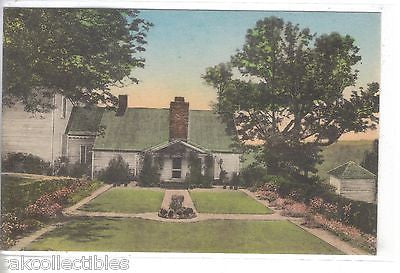 """Ash Lawn"",North side of Monroe Home-Charlottesville,Virginia (Hand Colored) - Cakcollectibles"
