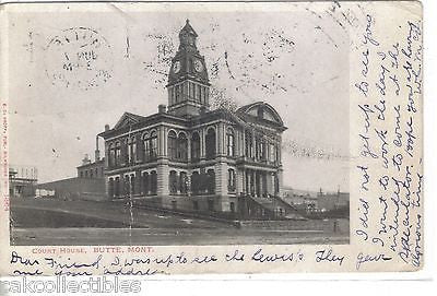 Court House-Butte,Montana 1907 - Cakcollectibles - 1