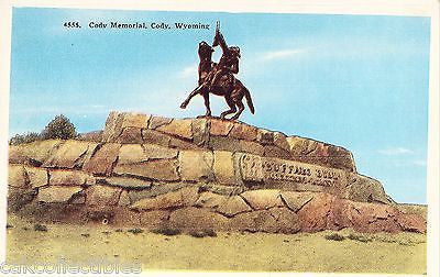 Cody Memorial-Cody,Wyoming - Cakcollectibles