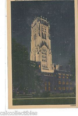 Scottish Rite Cathedral at Night-Indianapolis,Indiana - Cakcollectibles