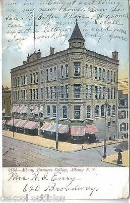 Albany Business College-Albany,New York 1907 - Cakcollectibles