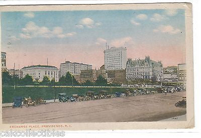 Exchange Place-Providence,Rhode Island 1915 - Cakcollectibles