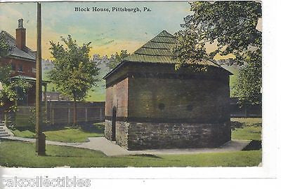 Block House-Pittsburgh,Pennsylvania 1912 - Cakcollectibles