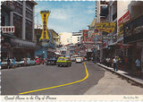 Central Avenue In The City Of Panama Postcard - Cakcollectibles - 1