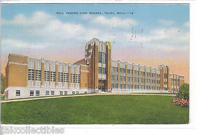 Will Rogers High School-Tulsa,Oklahoma 1943 - Cakcollectibles