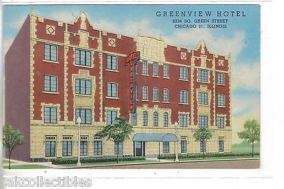 Greenview Hotel-Chicago,Illinois - Cakcollectibles