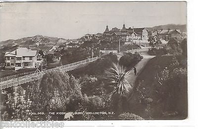 RPPC-The Kiosk-Kelburn,Wellington,New Zealand 1930 - Cakcollectibles - 1