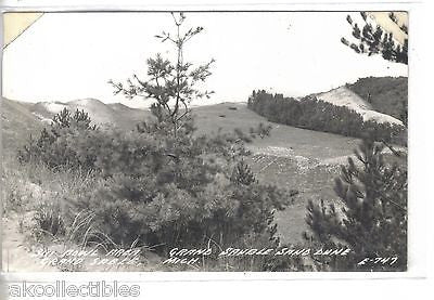 RPPC-Fish Bowl Area,Grand Sauble Sand Dune-Grand Sable,Michigan - Cakcollectibles - 1