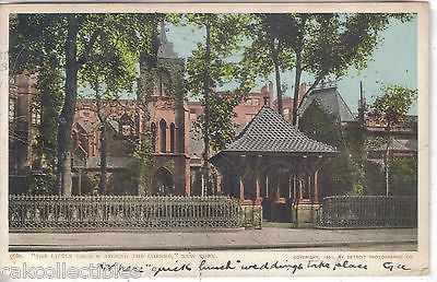 """The Little Church Around The Corner""-New York City 1906 - Cakcollectibles"