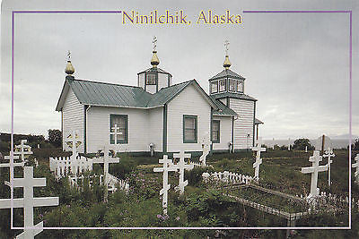Historic Russian Church In Ninilchik, Alaska Postcard - Cakcollectibles - 1