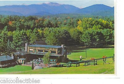 Mt. Cranmore Skimobile Base Station as seen from North Conway,New Hampshire - Cakcollectibles