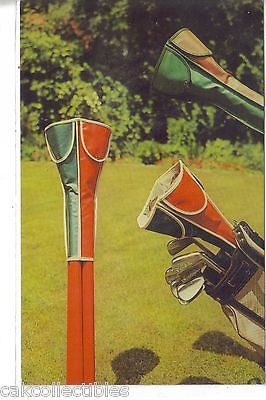 The Woods Nest-Golf Club Head Covers-Advertising Card - Cakcollectibles - 1