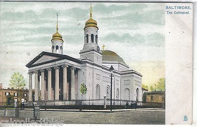 The Cathedral-Baltimore,Maryland (Tuck's) - Cakcollectibles