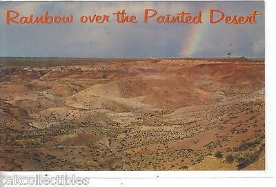 Rainbow over The Painted Desert on Highway 66 near Holbrook,Arizona - Cakcollectibles