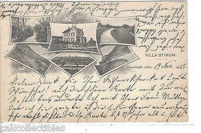 Early Post Card-Villa Stirum 1925 - Cakcollectibles