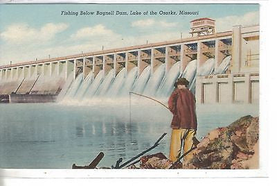 Fishing below Bagnell Dam-Lake of The Ozarks-Missouri - Cakcollectibles
