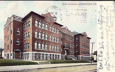 High School-Johnstown,Pennsylvania 1906 - Cakcollectibles