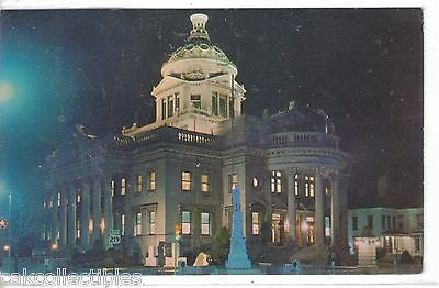 Night View of Courthouse-Somerset Co.,Pennsylvania 1981 - Cakcollectibles