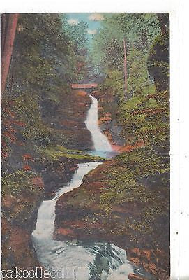 Upper and Middle Falls-Buck Hill Falls-Pennsylvania - Cakcollectibles