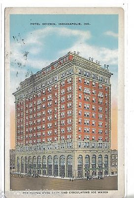 Hotel Severin-Indianapolis,Indiana 1930 - Cakcollectibles