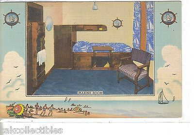 Marine Room,YMCA Hotel-Chicago,Illinois 1940 - Cakcollectibles