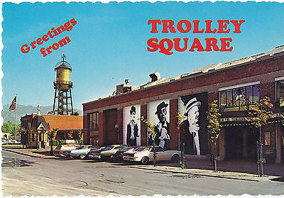 Greetings From Trolley Square Utah Postcard - Cakcollectibles - 1