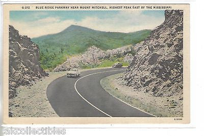 Blue Ridge Parkway near Mount Mitchell-North Carolina - Cakcollectibles