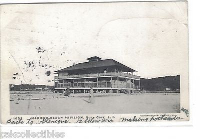 Harbor Beach Pavilion-Gleb Cove,Long Island,New York - Cakcollectibles - 1