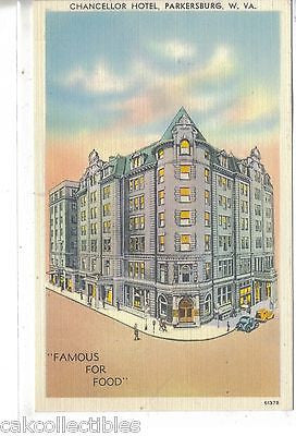 Chancellor Hotel-Parkersburg,West Virginia - Cakcollectibles