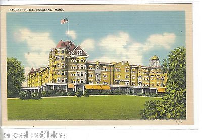 Samoset Hotel-Rockland,Maine - Cakcollectibles