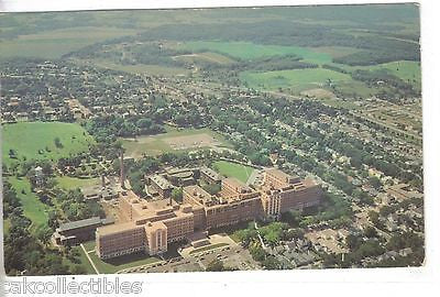 Aerial View of St. Mary's Hospital-Rochester,Minnesota - Cakcollectibles