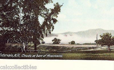 Clouds at Base of Mountains-Intervale,New Hampshire UDB - Cakcollectibles