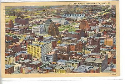 Air View of Downtown St. Louis,Missouri 1940 - Cakcollectibles