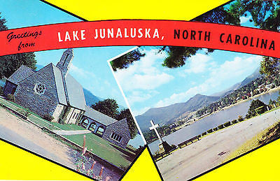 Greetings From Lake Junaluska N.C. Postcards - Cakcollectibles
