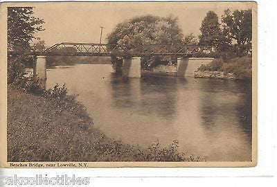 Beaches Bridge near Lowville,New York - Cakcollectibles