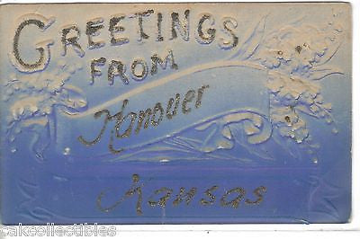 Greetings from Hanover,Kansas - Cakcollectibles