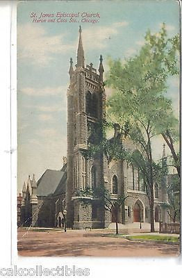 St. James Episcopal Church-Chicago,Illinois - Cakcollectibles - 1