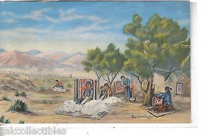 """The Navajo""-by Dude Larsen 1947 - Cakcollectibles"