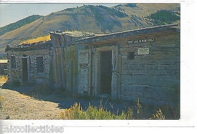 First Jail in Montana-Bannack,Montana - Cakcollectibles