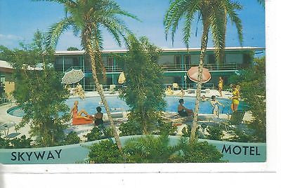 Skyway Motel St.Petersburg, Florida - Cakcollectibles