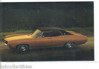 1970 Torino Brougham 4-Dr. Hardtop-Vintage Post Card - Cakcollectibles - 1