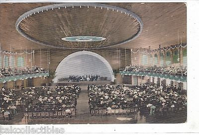 Interior of Auditorium-Long Beach,California - Cakcollectibles
