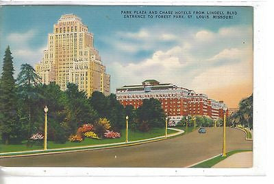 Park Plaza and Chase Hotels-St. Louis,Missouri - Cakcollectibles