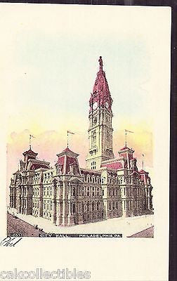 City Hall-Philadelphia,Pennsylvania UDB - Cakcollectibles