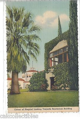 Corner of Hospital Looking Towards Sanitarium Building-Loma Linda,California - Cakcollectibles