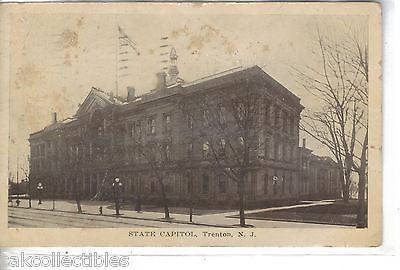 State Capitol-Trenton,New Jersey 1915 - Cakcollectibles