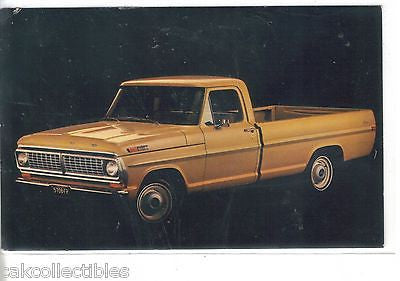 1970 Ford Pickup-Vintage Post Card - Cakcollectibles - 1