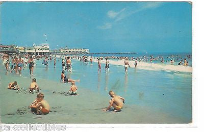 Beach and Bathing Scene-Ocean City,New Jersey - Cakcollectibles